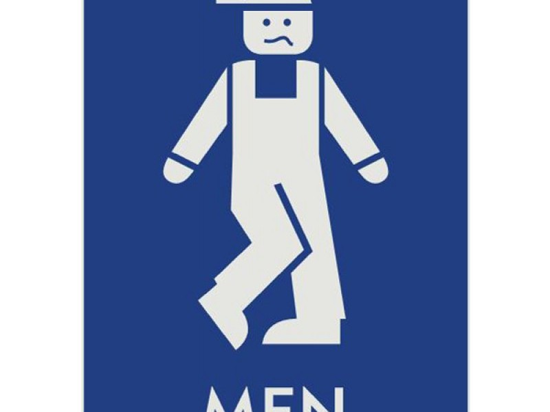 Funny Bathroom Signs For Men