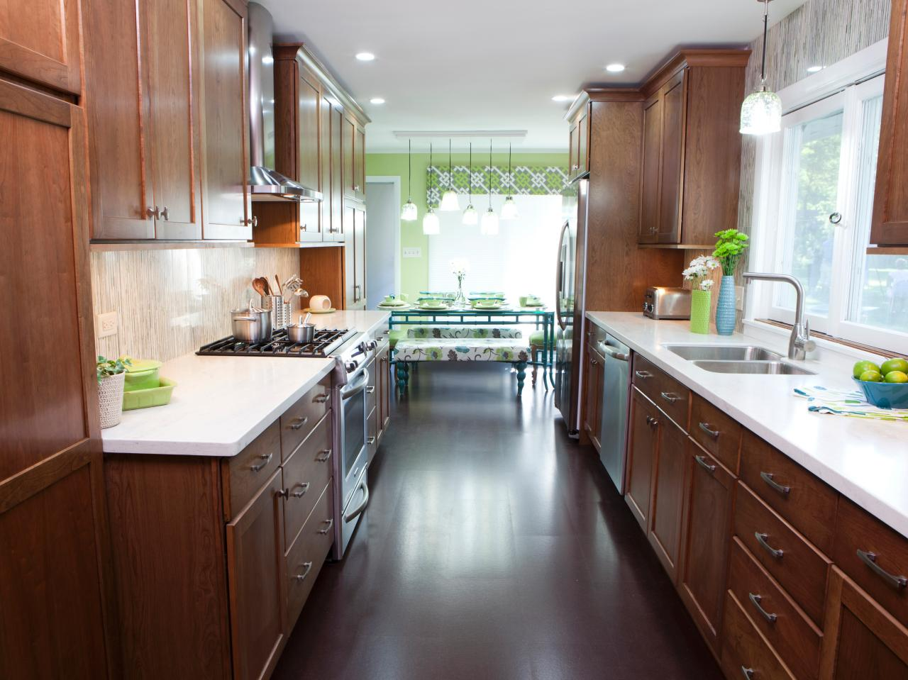 Galley Kitchen Lighting Design