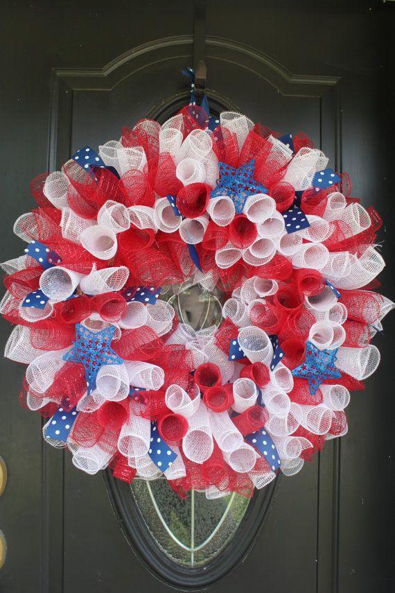 Geo Mesh Wreaths Pinterest