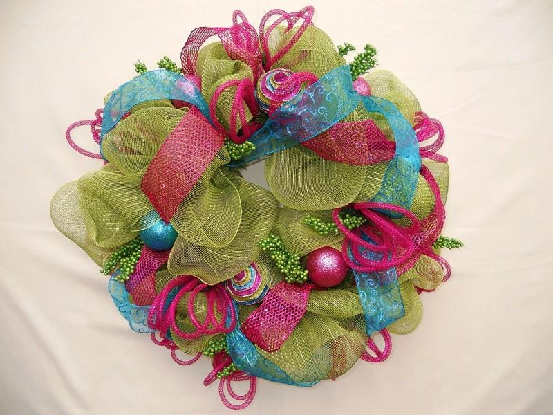 Geo Mesh Wreaths