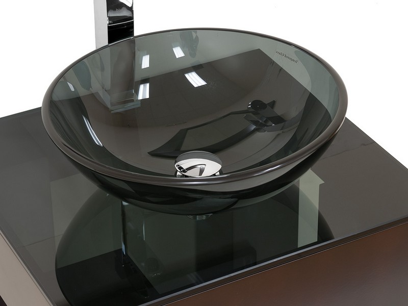 Glass Bathroom Sinks And Vanities