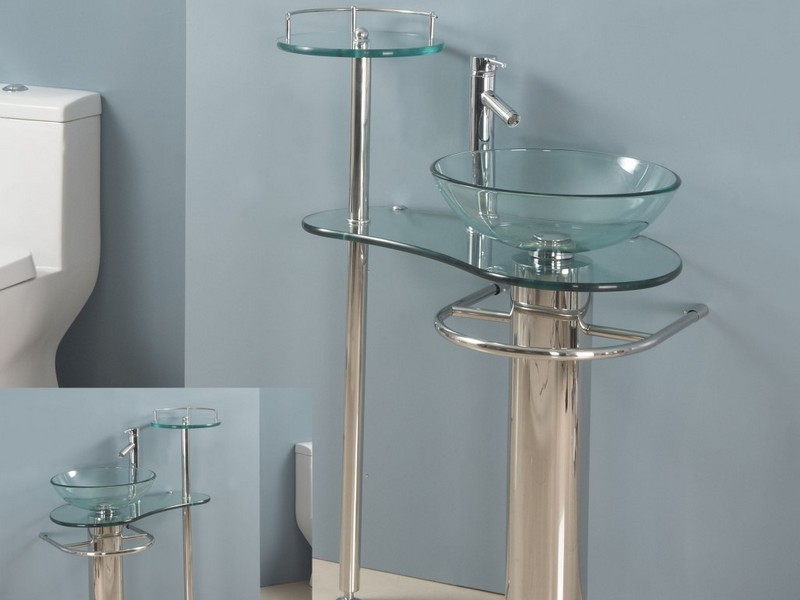 Glass Bowl Sinks For Bathrooms