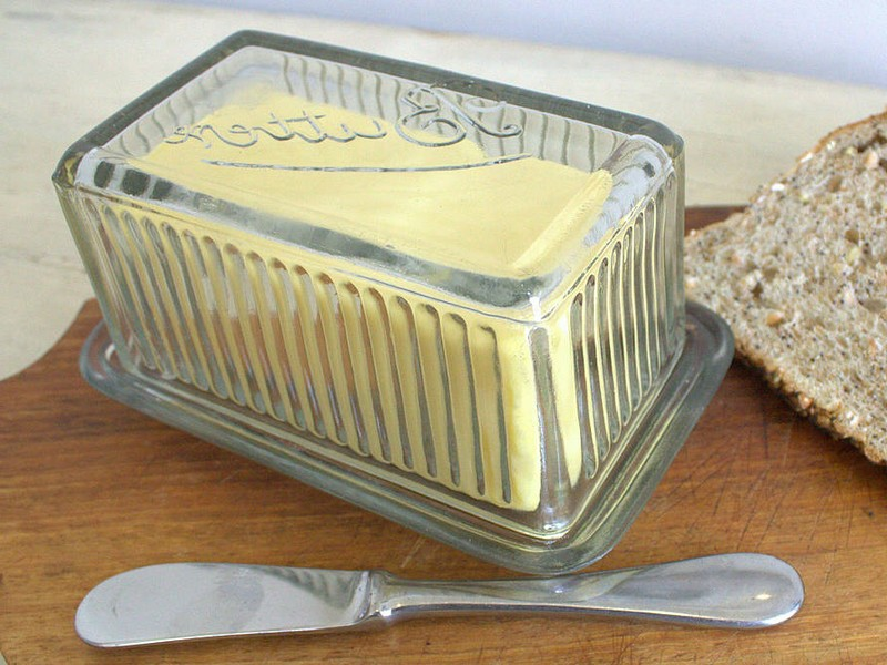 Glass Butter Dish With Lid Australia