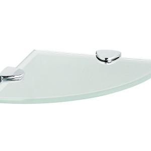 Glass Corner Shelves For Bathroom