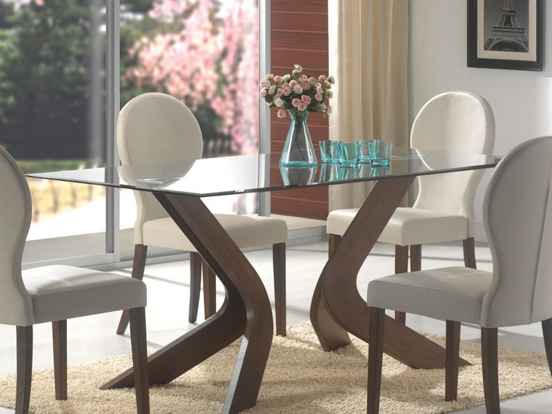 Glass Dinette Table Sets