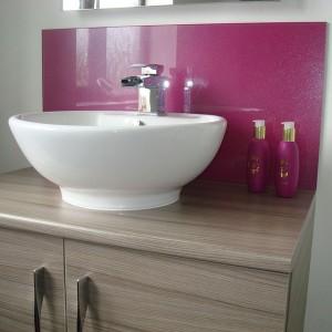 Glass Splashbacks For Bathroom Sinks