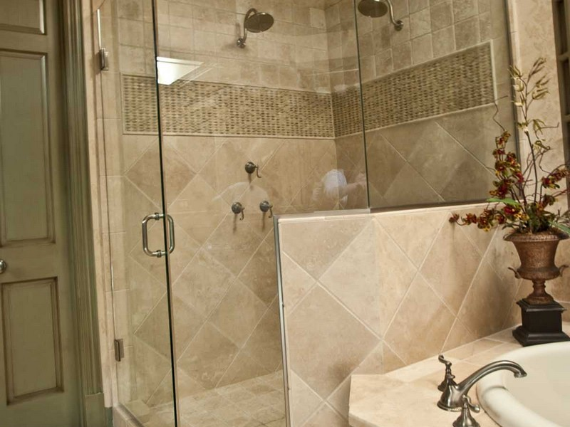Glass Subway Tile Bathroom Pictures