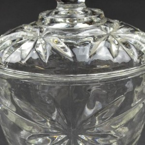 Glass Sugar Bowls With Lids