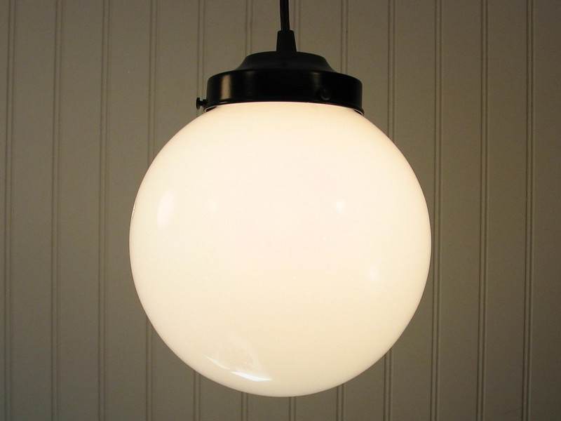 Globe Ceiling Light