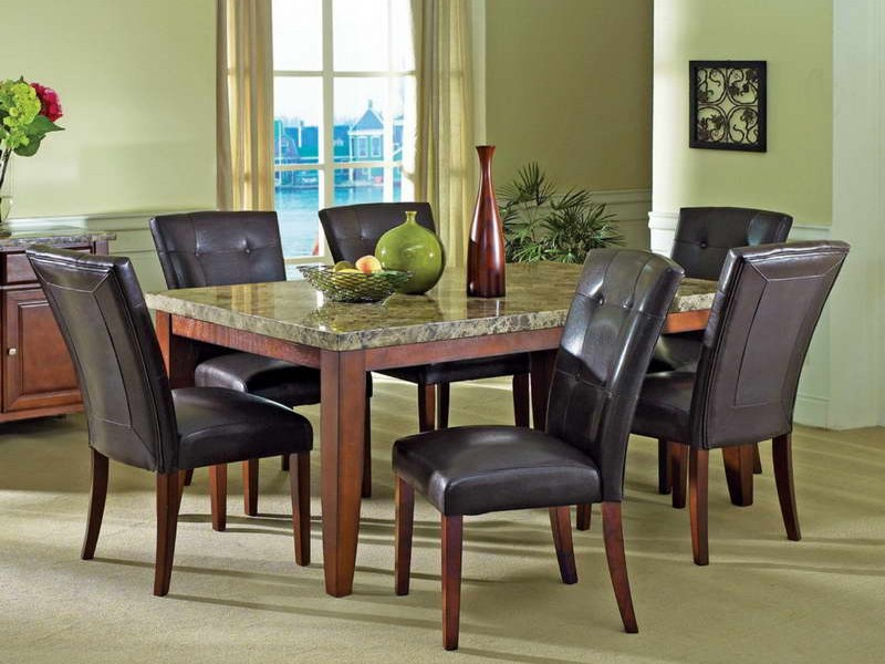 Granite Dining Room Table And Chairs