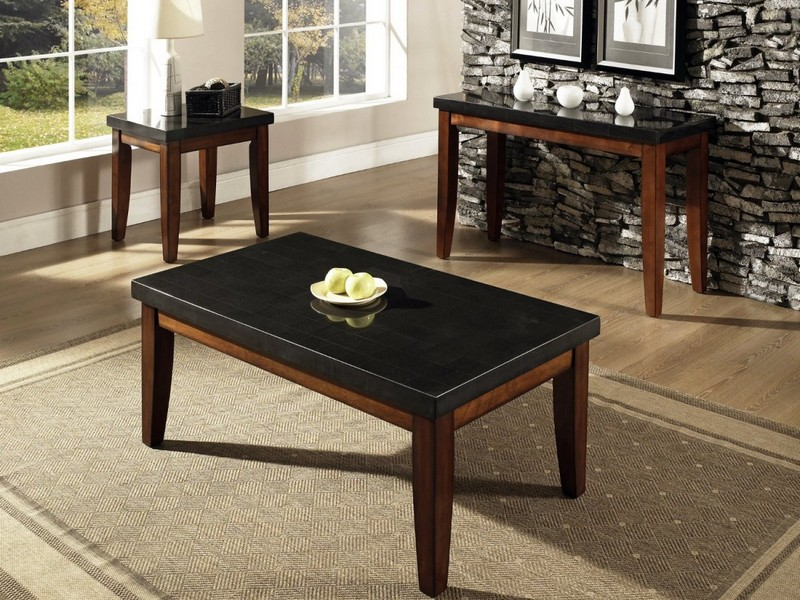 Granite Top Coffee Tables