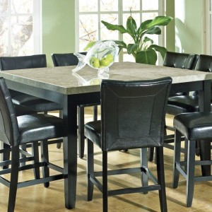 Granite Top Dining Table Set