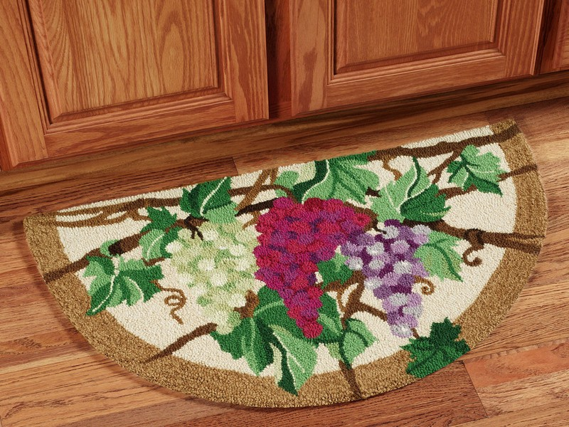 Grape Kitchen Rug Sets