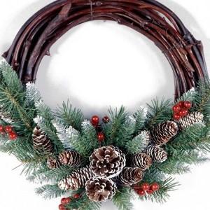 Grapevine Christmas Wreaths