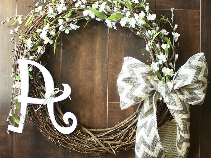 Grapevine Wreath Ideas For Spring