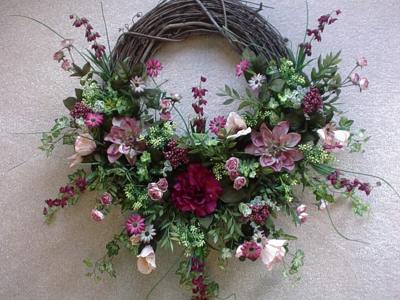 Grapevine Wreath Ideas For Weddings