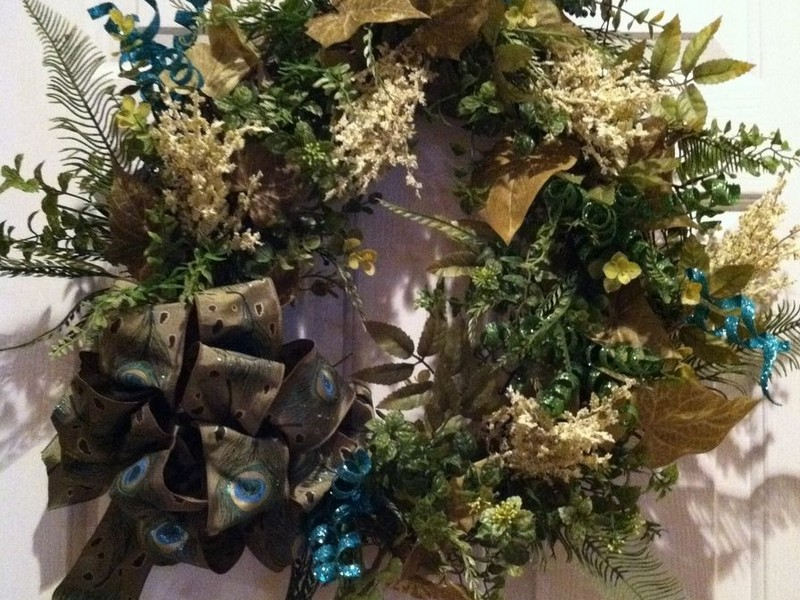 Grapevine Wreaths With Ribbon