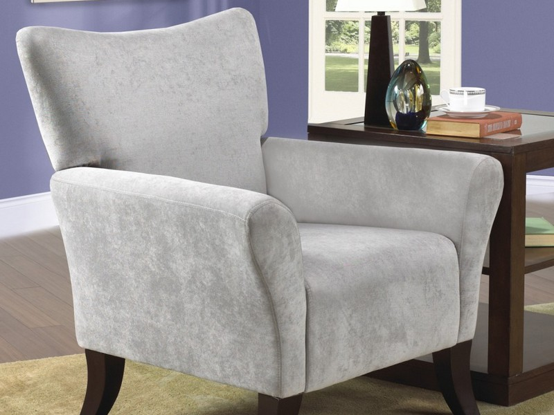 Gray Accent Chairs With Arms