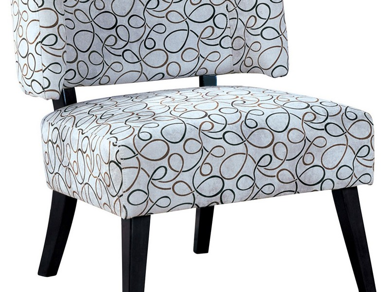 Gray And Teal Accent Chair