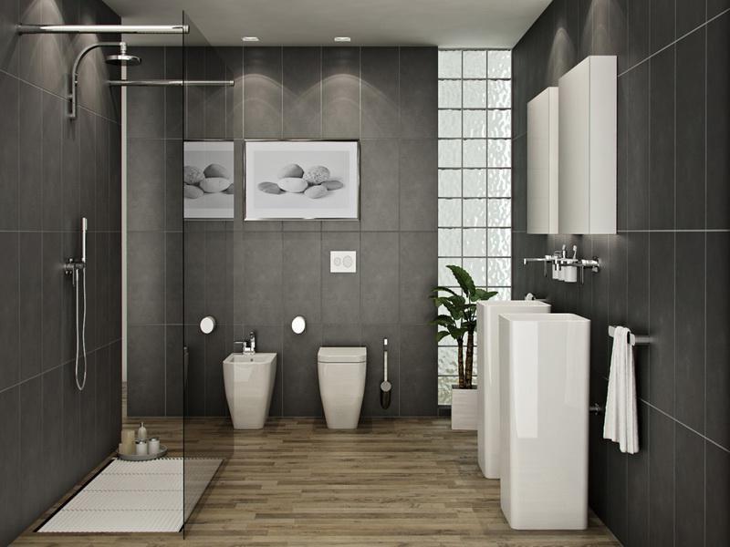 Gray Bathroom Color Combinations