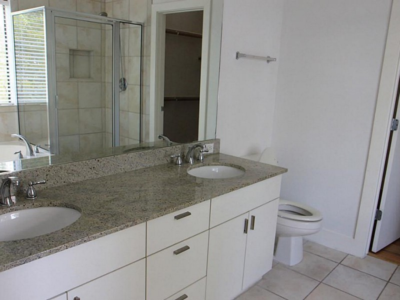 Gray Granite Bathroom Countertop