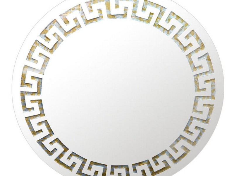 Greek Key Wall Mirror