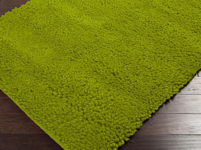 Green Shag Carpet