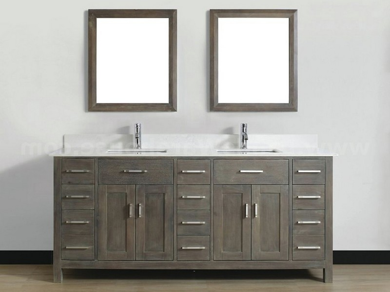 Grey Bathroom Vanity Canada