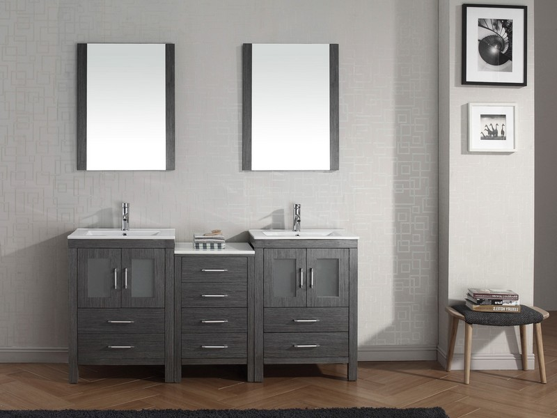 Grey Bathroom Vanity Ideas