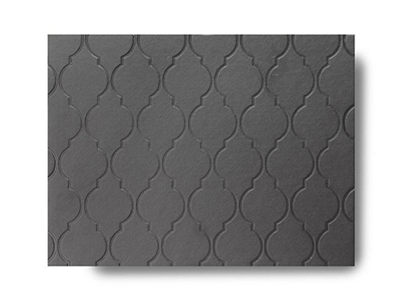 Grey Faux Leather Placemats