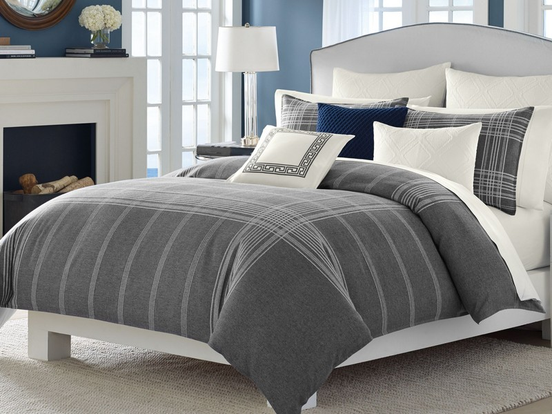 Grey King Size Bedding