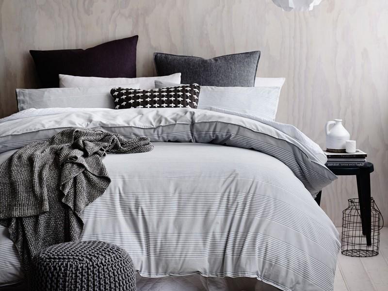 Grey Linen Duvet Cover Australia