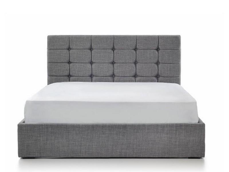 Grey Ottoman Storage Bed