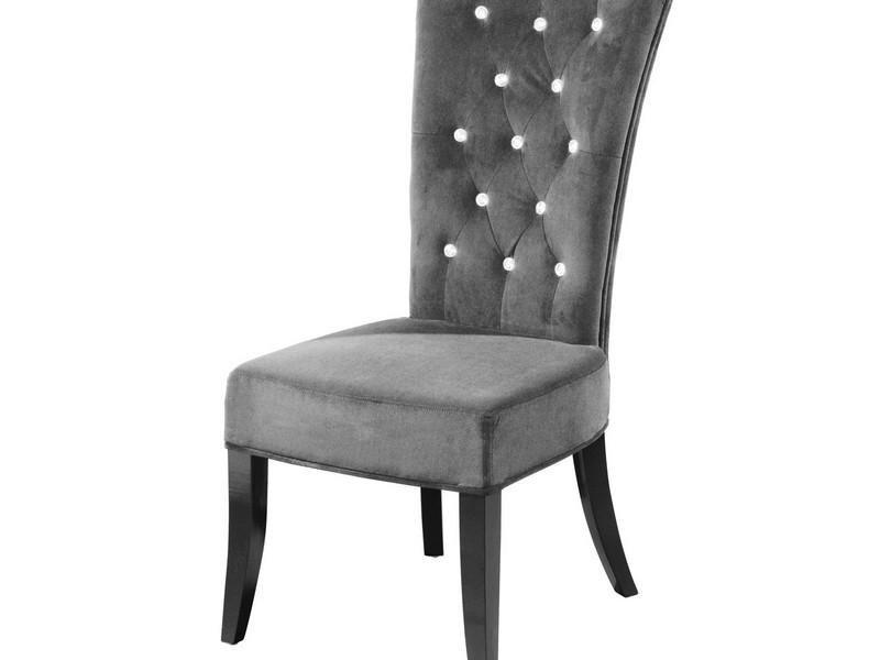Grey Velvet Dining Room Chairs