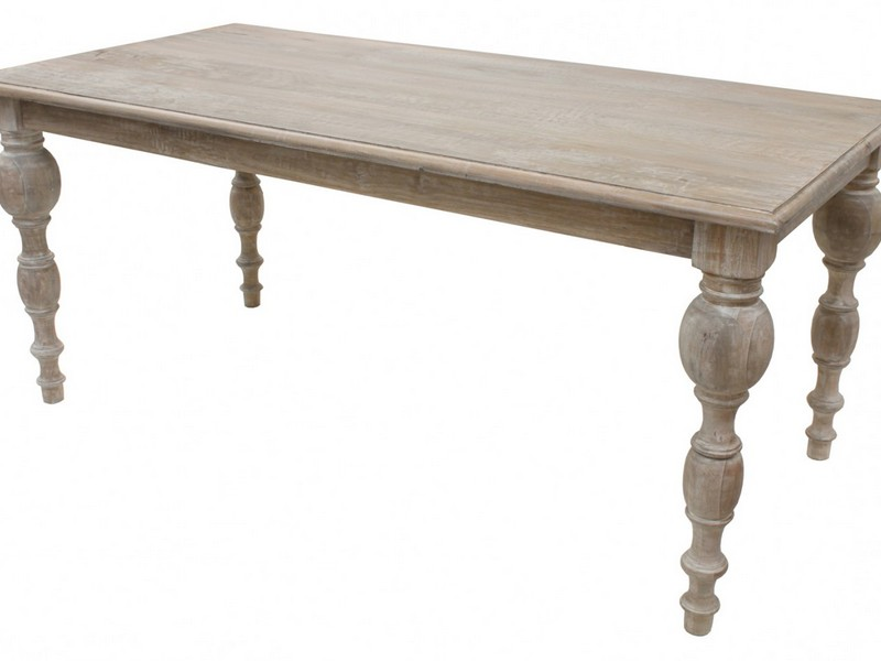 Grey Wash Dining Room Table