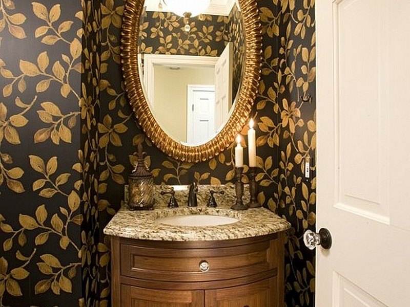 Guest Bathroom Wallpaper Ideas