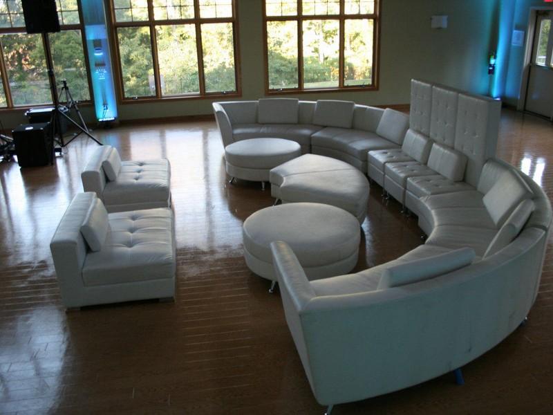 Half Circle Couch Design