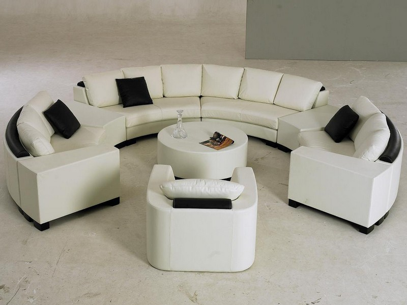 Half Circle Couch Small