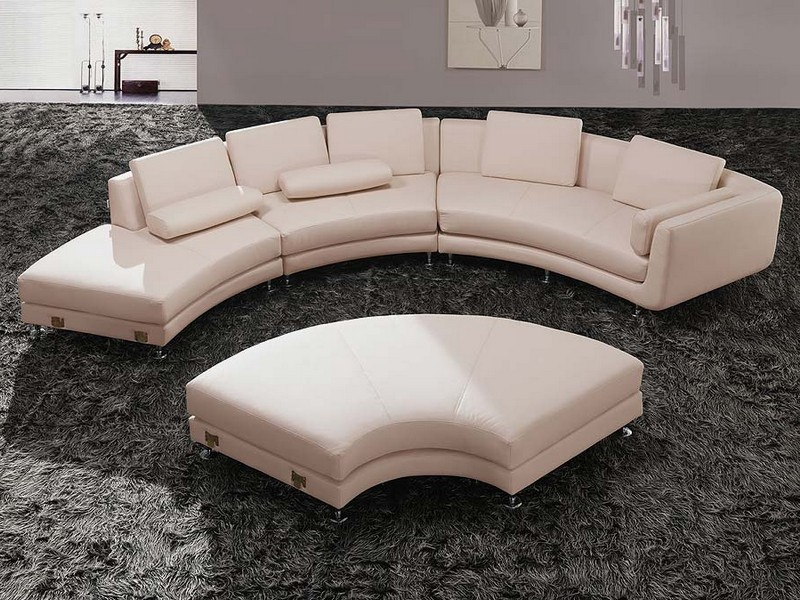 Half Circle Sectional Couch