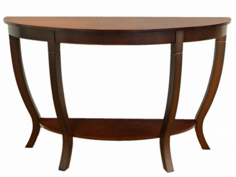 Half Circle Sofa Table