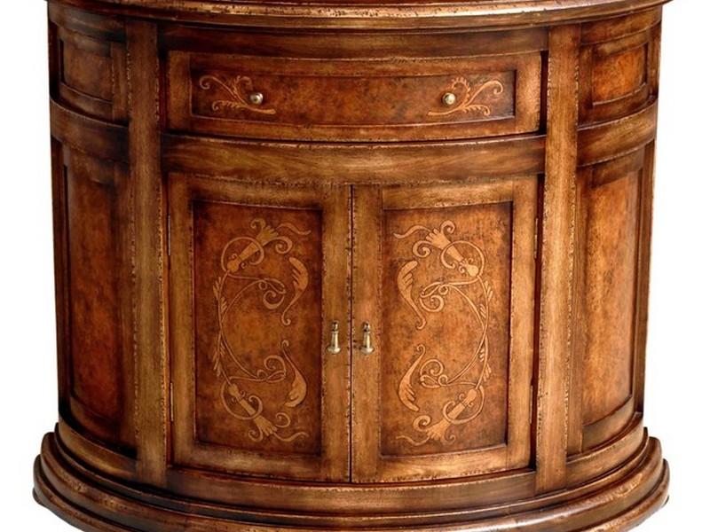 Half Moon Cabinet