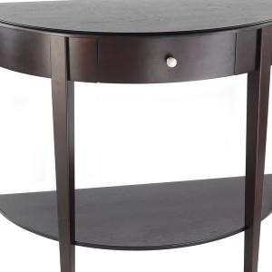 Half Moon End Table