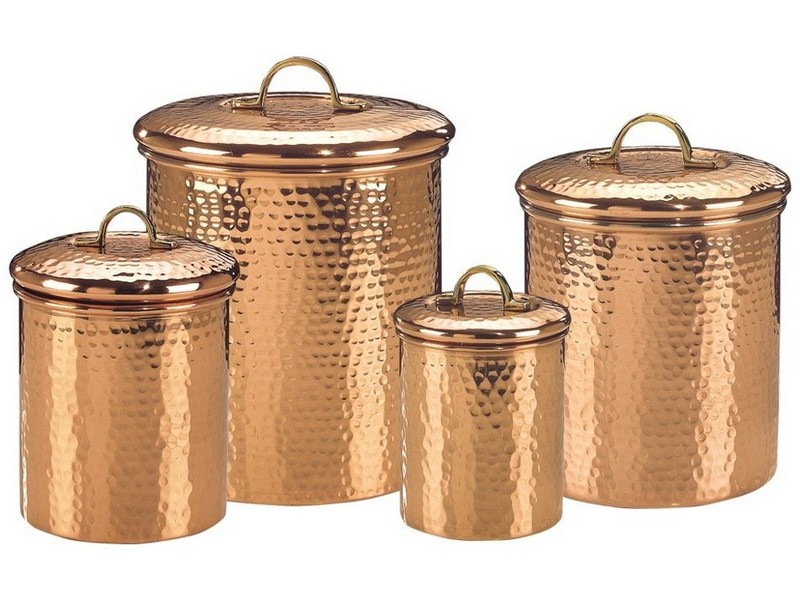Hammered Copper Cookware Set