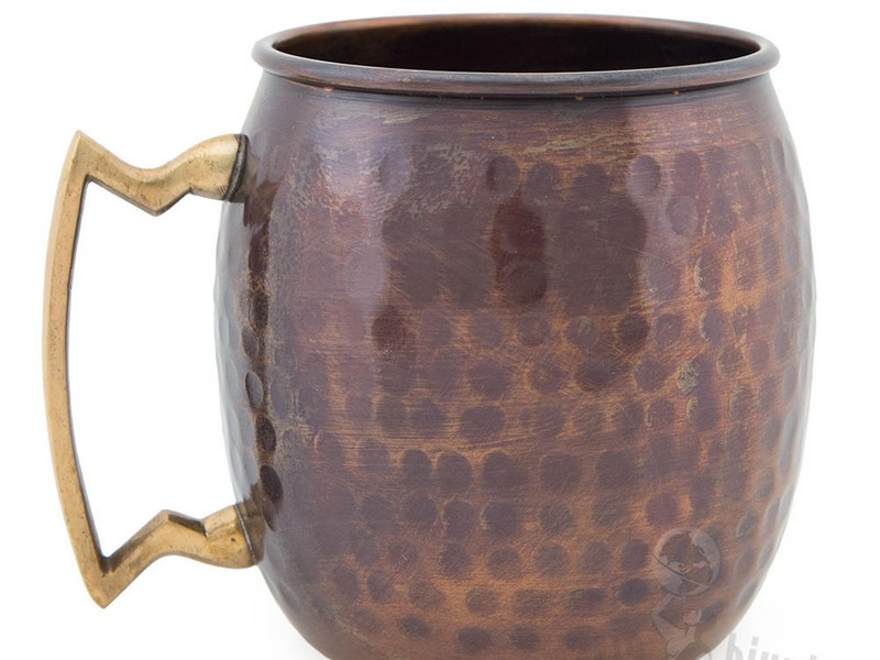 Hammered Copper Mugs