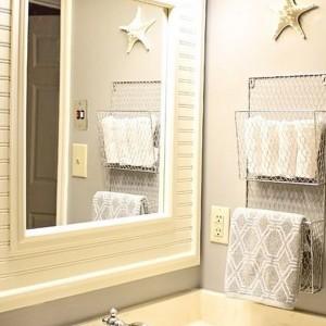 Hand Towel Racks For Bathrooms