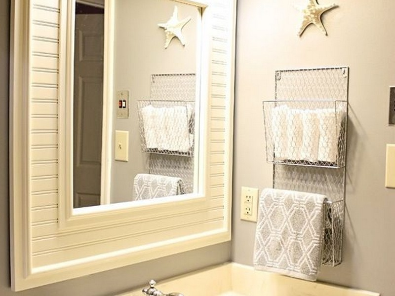 Hand Towel Racks For Bathrooms