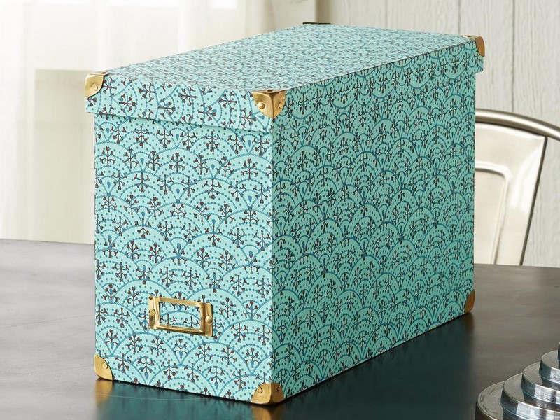 Hanging File Box Decorative