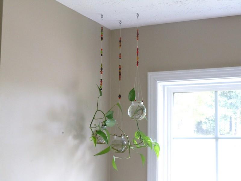 Hanging Glass Planters Indoor