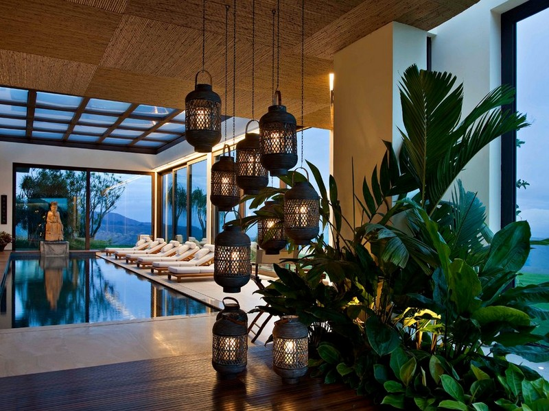 Hanging Lanterns Indoor Ideas