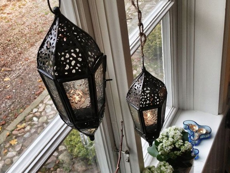 Hanging Lanterns Indoors